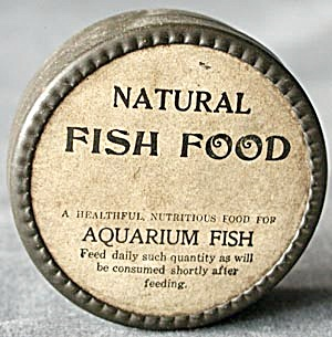 Vintage Fish Food Tin