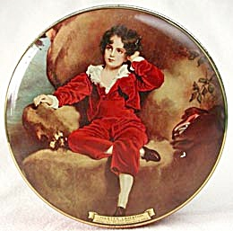 Vintage Candy Tin A.s. Wilkin Ltd. Red Boy Toffee