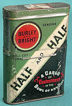 Vintage Union Leader & Half & Half Tobacco Tin