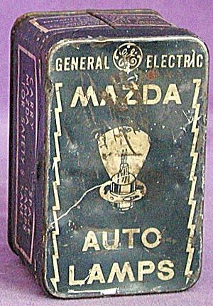 Vintage Mazda Auto Lamp Tin (Image1)