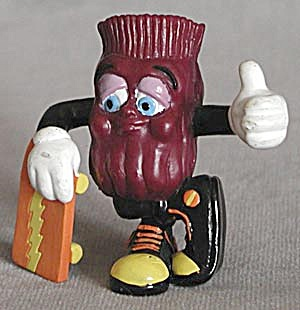 California Raisin Butch with Skateboard (Image1)