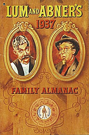 Lum and Abner's 1937 Family Almanac (Image1)