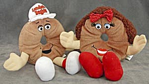 Lender's Bagel Bean Bag Dolls Betty & Buddy (Image1)