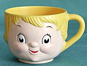 Vintage Campbell Kids Girl Mug