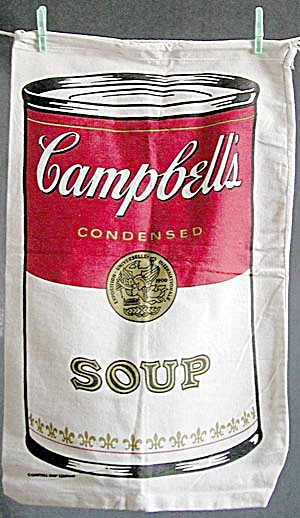 Campbell's Soup Canvas Bag (Image1)