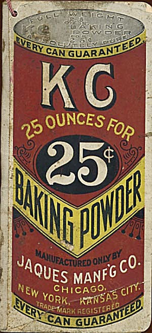 Vintage K G Baking Powder Grocer's Want Book