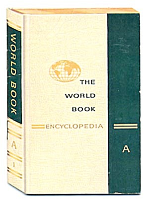 Vintage Advertising For The World Book Encyclopedia