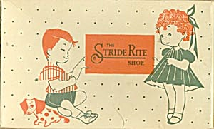 Vintage Stride Rite  Child's Shoe Box (Image1)