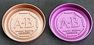 Vintage Aluminum Coasters with A & B Quality (Image1)