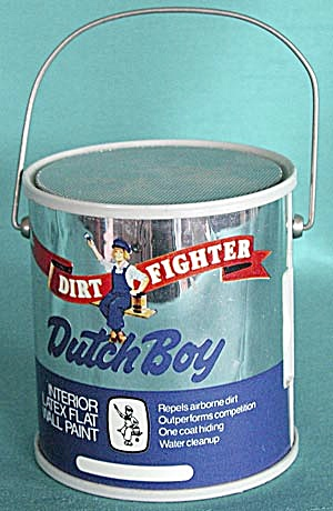 Dutch Boy Paint Can Radio