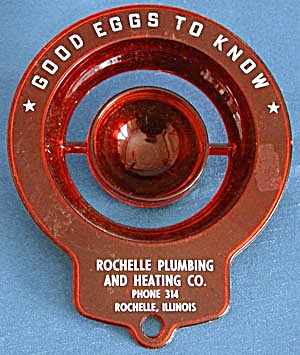 Vintage Good Eggs Plastic Advertising Egg Separator (Image1)