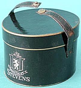 Vintage Stevens Hat Salesmen Sample Box