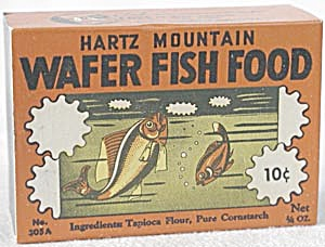 Vintage Aquarium Fish Food Hartz Mountain Wafer (Image1)