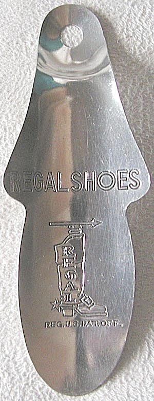 Vintage Metal Regal Shoes Shoe Horn
