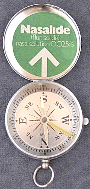 Advertising Compass For Nasalide