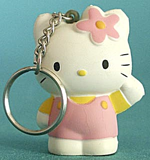 Hello Kitty Soft Key Chain