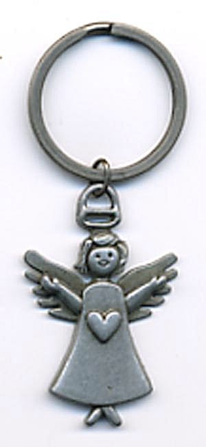 Metal Angel Key Chain