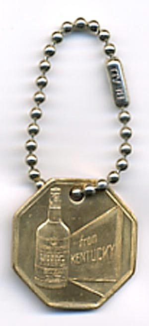 King Whiskey Key Chain