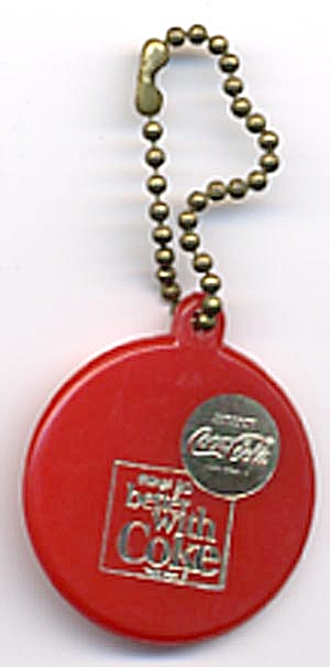 Vintage Coca Cola Key Chain
