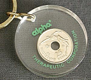 Key Chain: Alpha Therapeutic Corporation