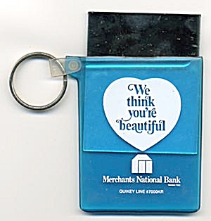 Key Chain: Merchants National Bank Mirror