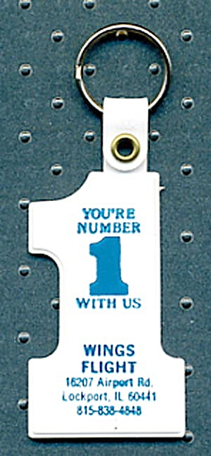 Key Chain: Your number 1 with Us Wings Flight (Image1)