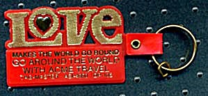 Key Chain: Love Acme Travel