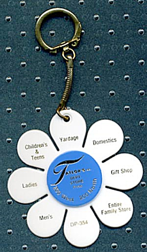 Key Chain: Taylor's Dept. Store