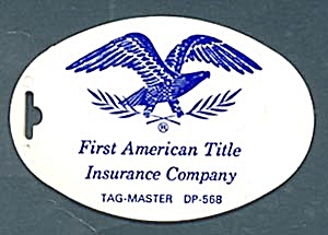 Key Chain: First American Title Insurance Co.