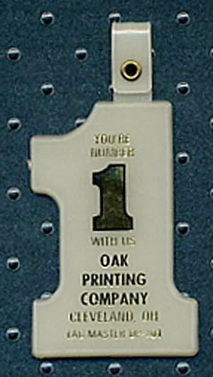 Key Chain: Oak Printing Co.