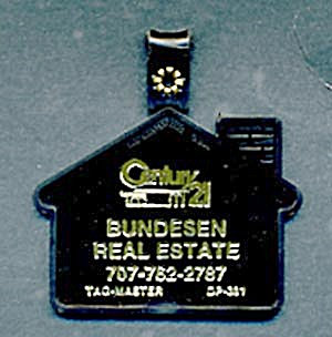 Key Chain: Century 21 House (Image1)