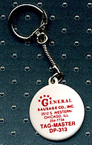 Key Chain: General Sausage Co.