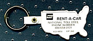 Key Chain: Rent-a-car