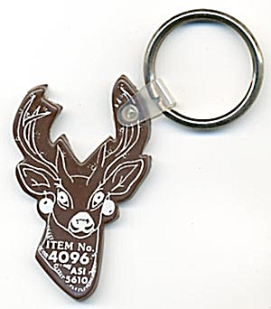 Key Chain: Deer Head