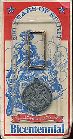 Vintage Bicentennial Key Chain (Image1)