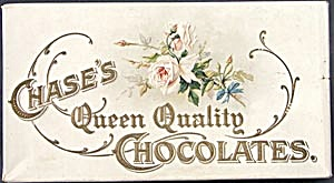 Vintage Chase's Queen Quality Chocolate Candy Box (Image1)