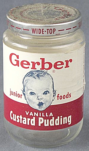 Vintage Gerber Junior Foods Jar