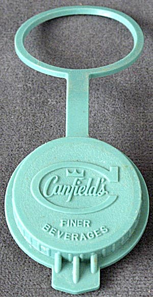 Vintage Canfield's Soda Pop Bottle Cap