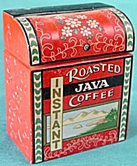 Vintage Instant Roasted Java Coffee Canister