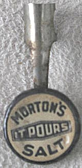 Vintage Morton's Salt Pencil Or Pen Topper