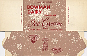 Bowman Dairy Chocolate Ice Cream