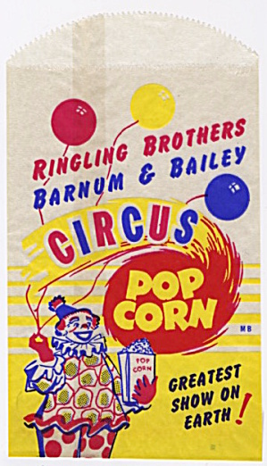 Ringling Brothers Barnum & Bailey Circus Popcorn (Image1)