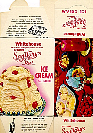 Sanitary's Whitehouse Ice Cream (Image1)