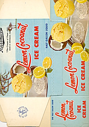Heileman's Lemon Coconut Ice Cream