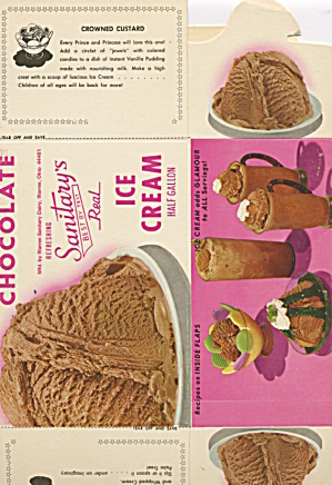Sanitary's Chocolate Ice Cream
