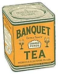 Banquet Tea Orange Pekoe Fold Out
