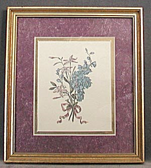 Framed Flower Print (Image1)