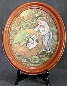 Vintage Peter Pumpkin Eater Framed Print (Image1)