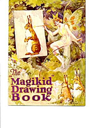 Vintage The Magikid Drawing Book