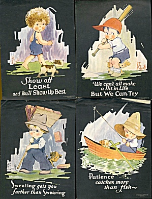 Boys Gerlach-barklow Co., Set Of 6
